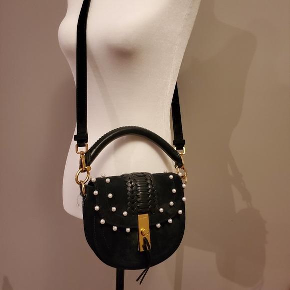 EUC (worn twice) Altuzarra black suede bag